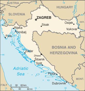 Chorvátsko - moje dovolenka v chorvátsku